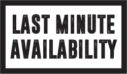 Last Minute Availability - Click here