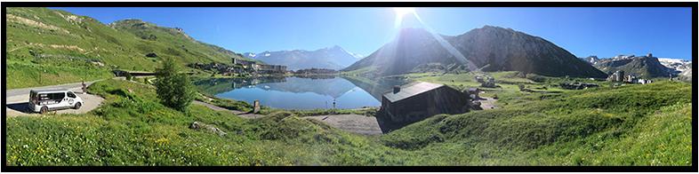 Tignes Le Lac Summer