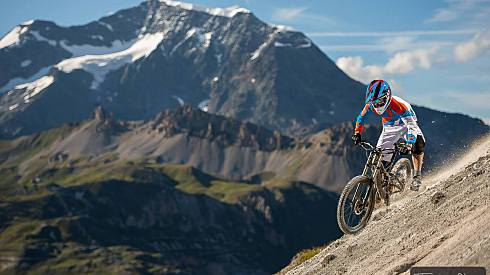 Tignes and Val dIsere Bike Park Alpine Sherpa