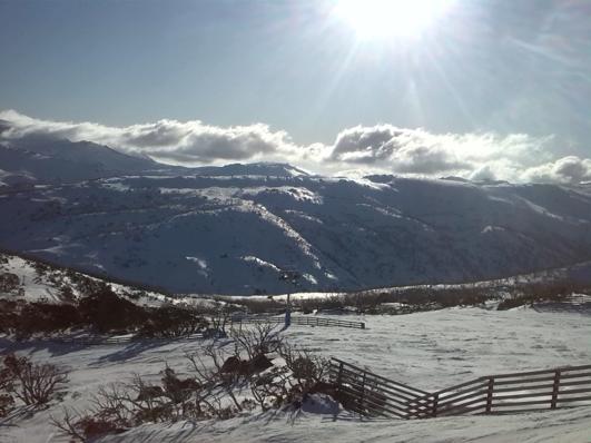 Mt Kosciuszko from Guthega