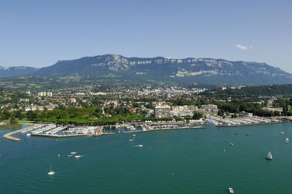 Lac du Bourget, Aix-les-Bains, image courtesy of www.savoie-mont-blanc.com